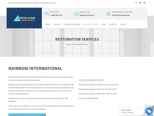 Commercial Window Cleaning Company | Crystal Clean Maintenance