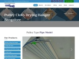 pulley cloth drying hanger bangalore