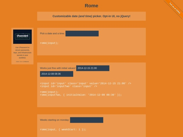 http://bevacqua.github.io/rome/