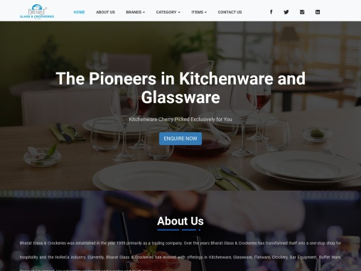 Bharat glass – Leading Cutlery Suppliers
