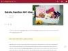 Send Delicious Food Items On Rakhi