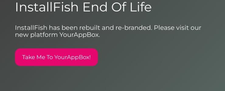 screenshot of InstallFish