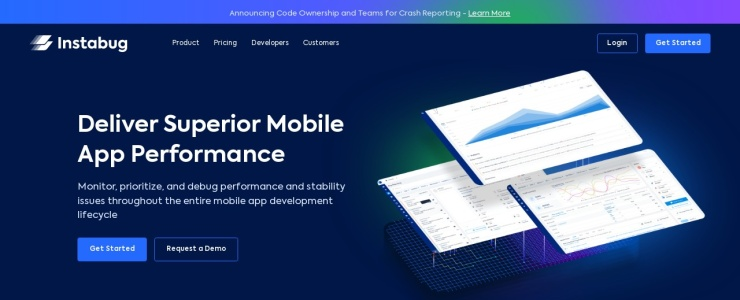 screenshot of Instabug