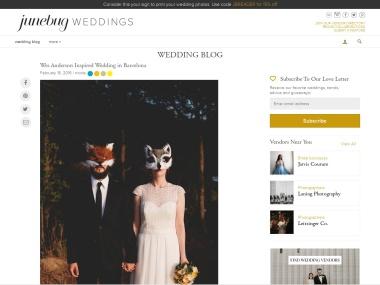Wes Anderson Inspired Wedding in Barcelona – junebugweddings.com
