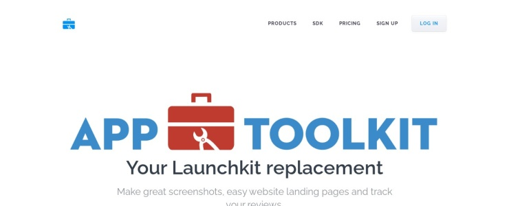 screenshot of App ToolKit
