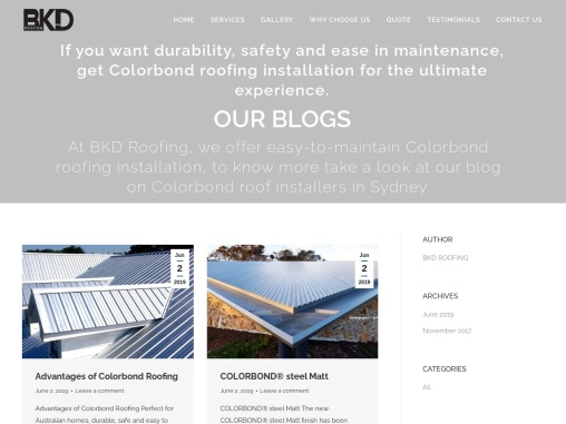 BKD Roofing – Residential metal roof installation