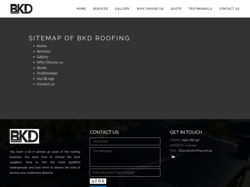 BKD Roofing – Metal Roofing Experts
