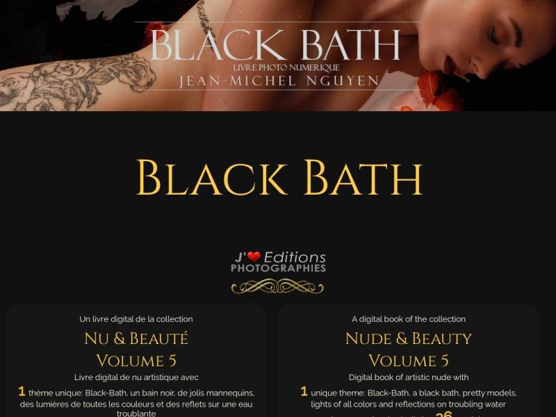 black bath