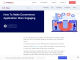 How to Build an Engaging Ecommerce Application