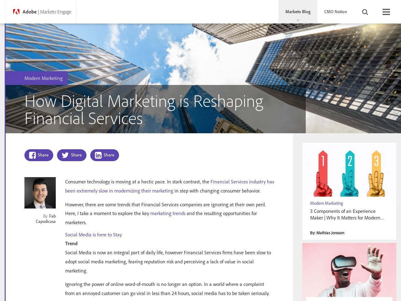 How Digital Marketing is Reshaping Financial Services | Modern …
