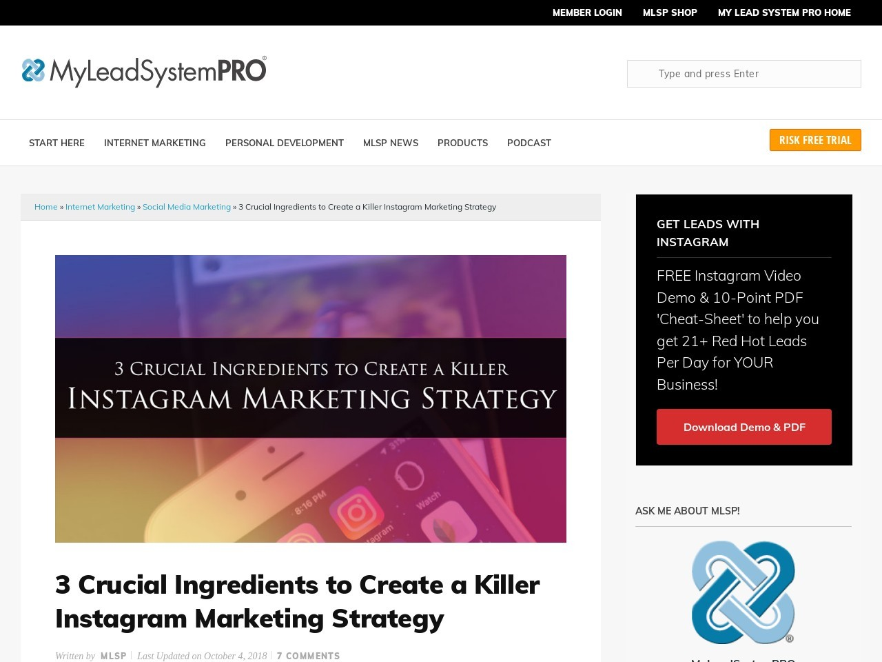 Instagram Video Marketing Tips & Challenge | My Lead …