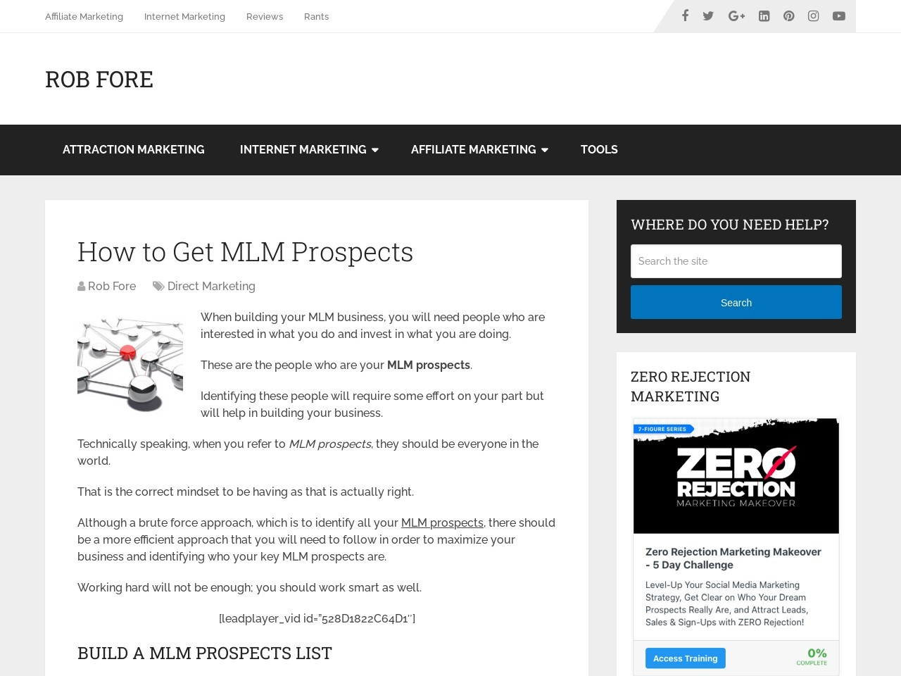 How to Get MLM Prospects