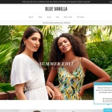 Sale up to 60% off at Blue Vanilla