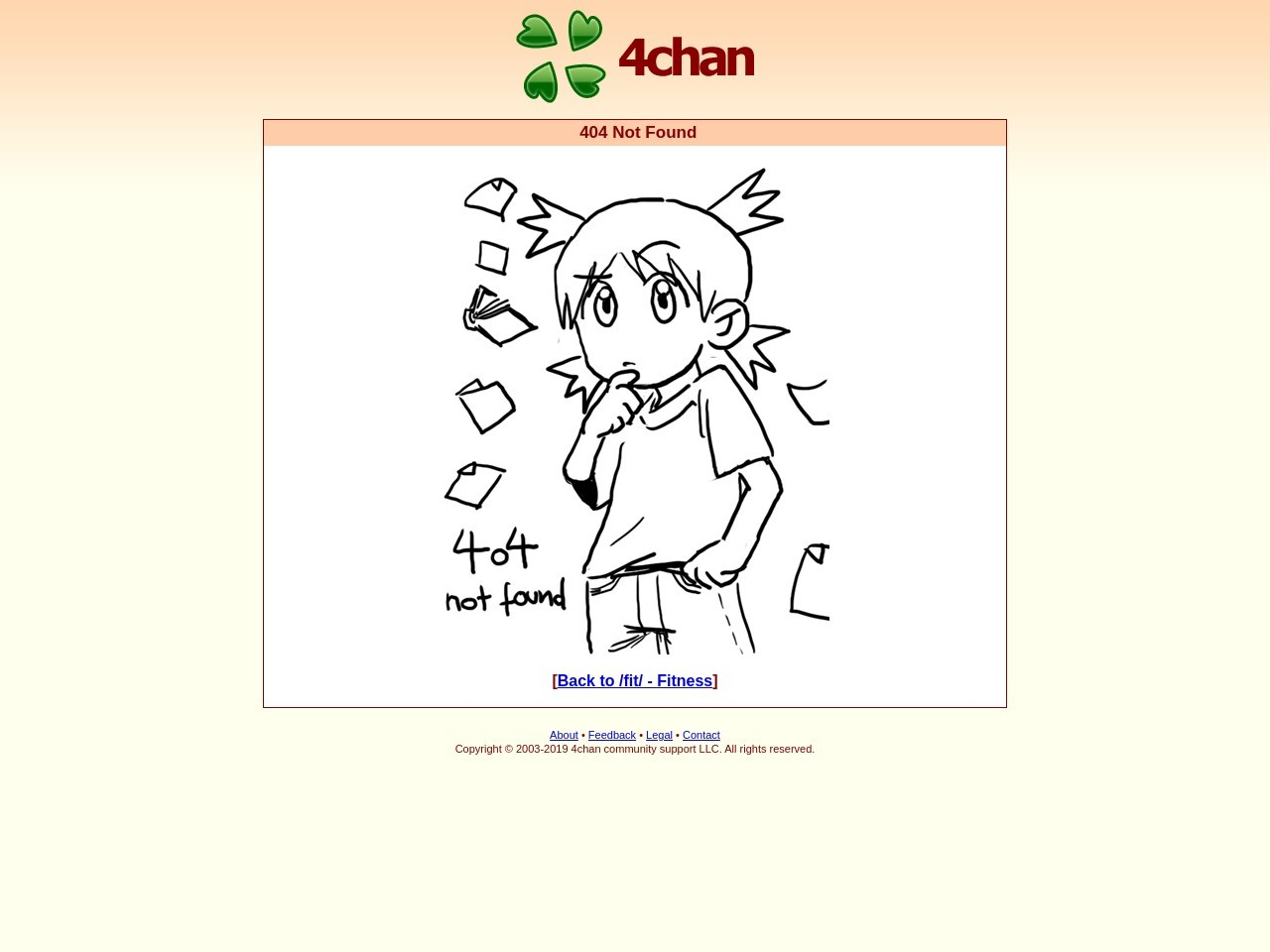 I recently started a job in the IT field, and I'm Fitness 4chan