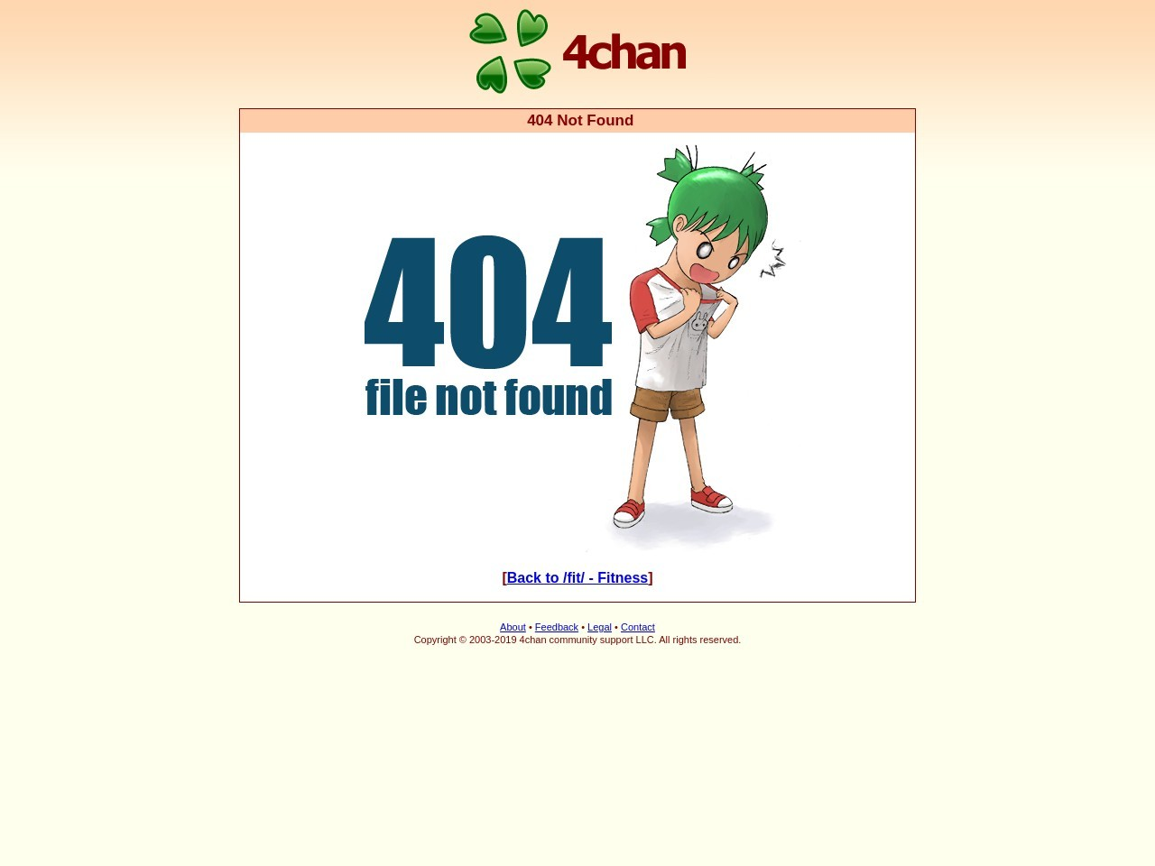 anyone else suspicious? Fitness 4chan