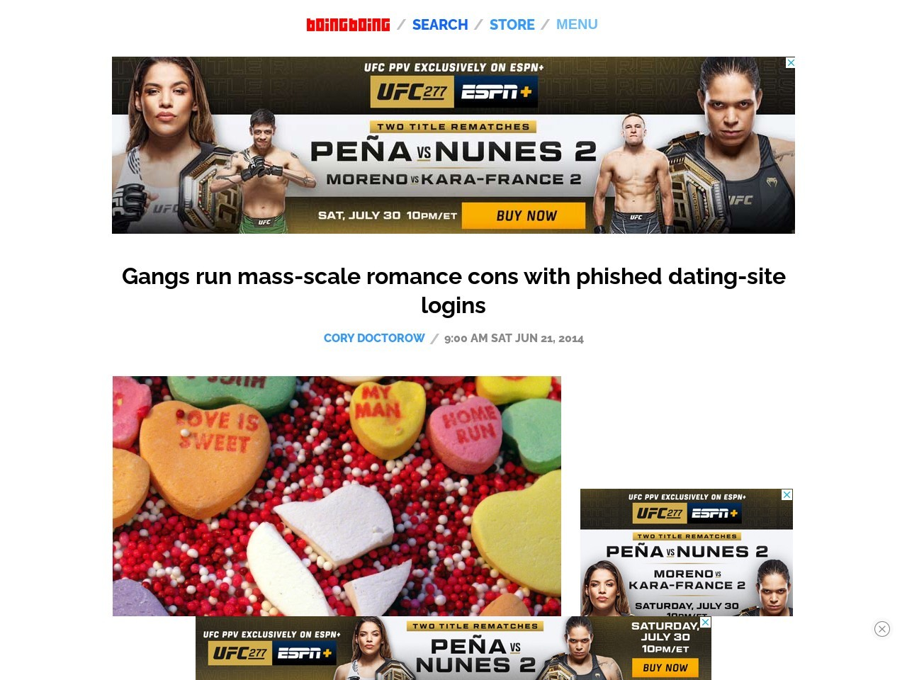 Gangs run mass-scale romance cons with phished dating …
