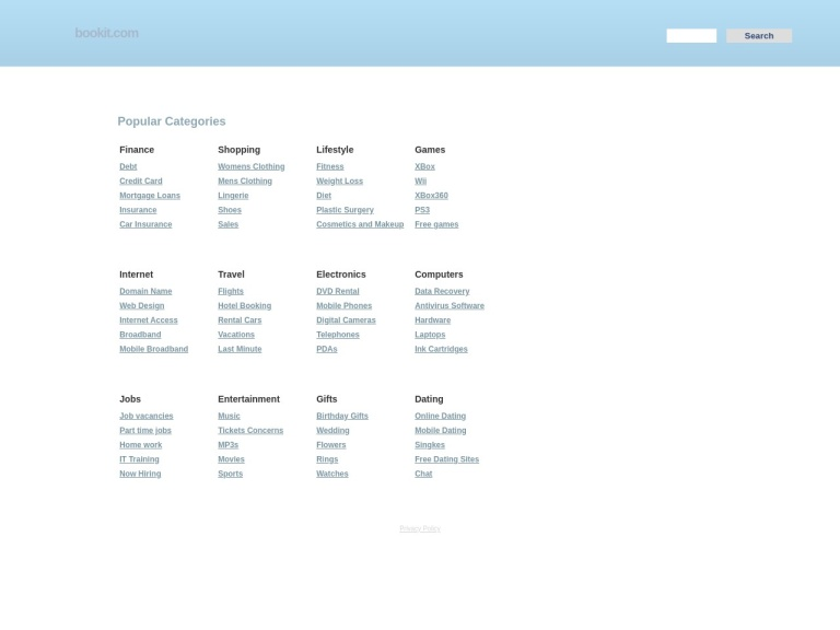 Bookit screenshot