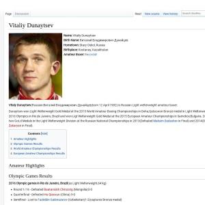 Vitaliy Dunaytsev - BoxRec