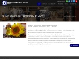 Sunflower Oil Refinery Plant Manufacturer, Supplier