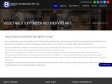 Vegetable Exporter Refinery Plant Manufacturer, Supplier & Exporter