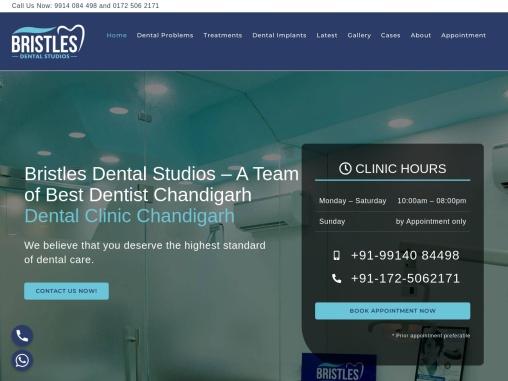 Best Dentist in Chandigarh : Bristles Dental Studios