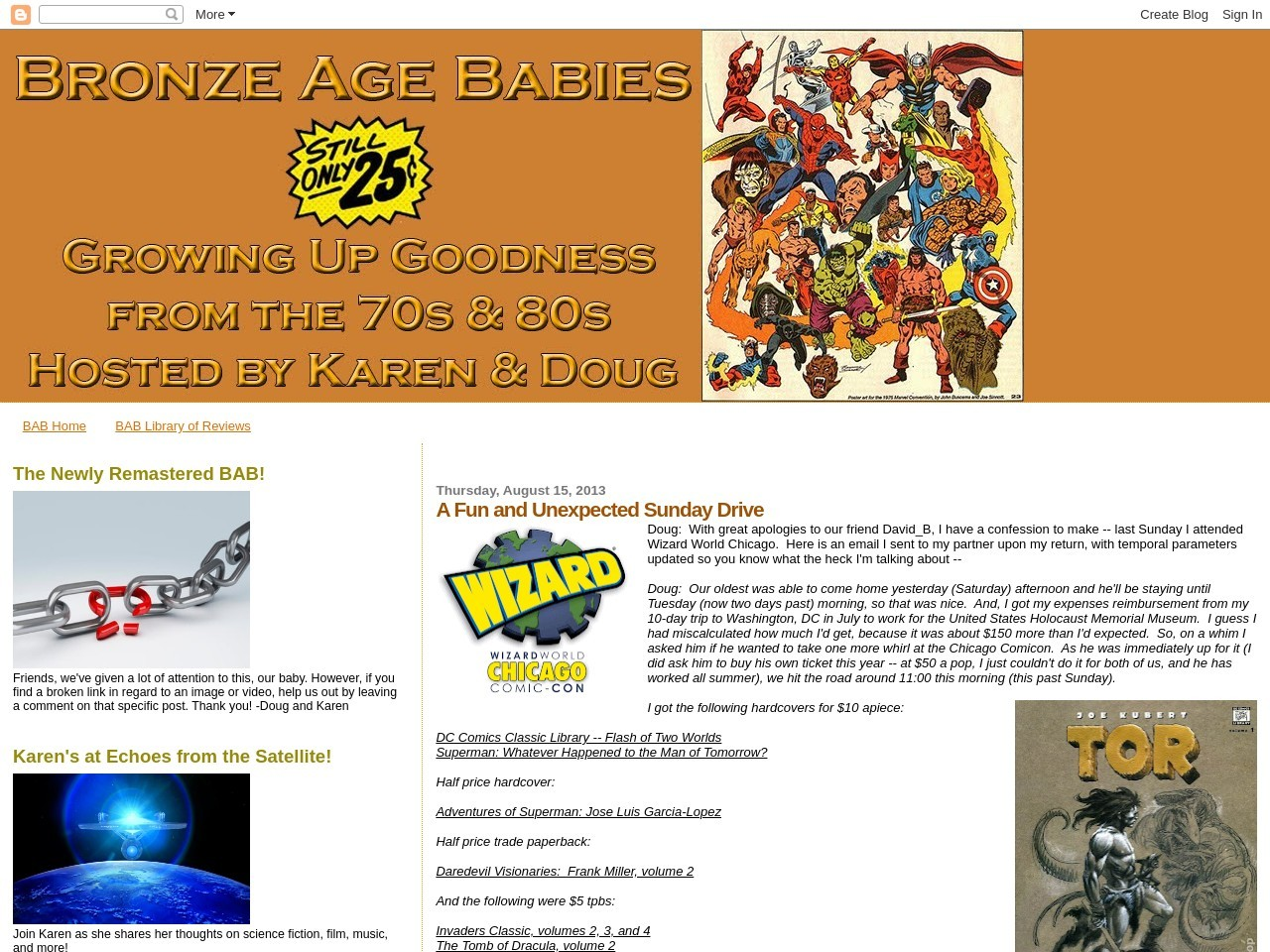 Bronze Age Babies: A Fun and Unexpected Sunday Drive