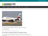 Emirates Cancellation Policy, Fee, 24 Hours Cancellation