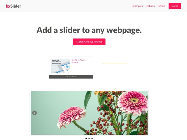jQuery Content Slider | Responsive jQuery Slider | bxSlider