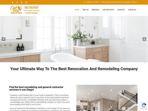 Remodeling Companies San Diego