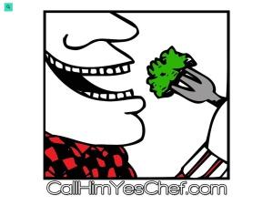 We Call Him Yes!Chef! using the Linen WordPress Theme