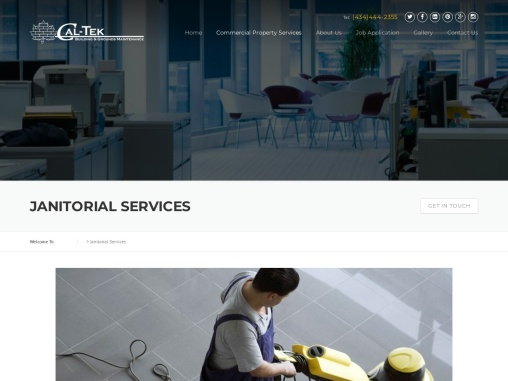 Janitorial Services   Caltekmaint