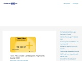 Tires Plus Credit Card Login & Payments Guide 2021