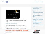 Wawa Credit Card Login and Payment Guide -2021