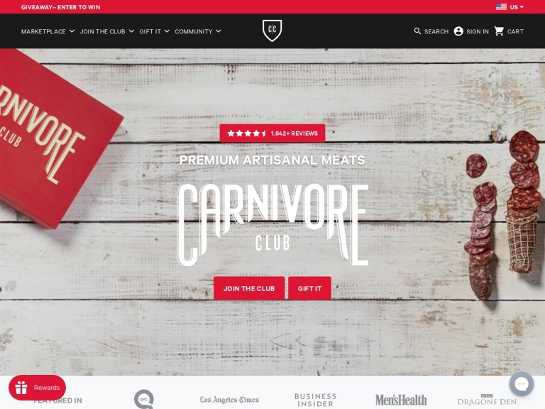 CarnivoreClub.co-Ultimate Meat Club for Discerning People Coupon Codes