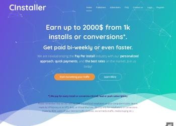 Cinstaller Website Preview