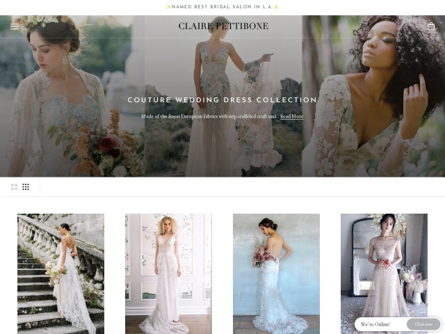 clairepettibone.com/bridal/