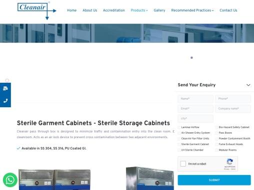 Sterile Storage Cabinet price