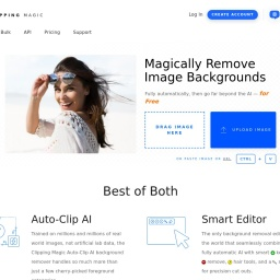 Clipping Magic: Instantly Remove Image Backgrounds Online