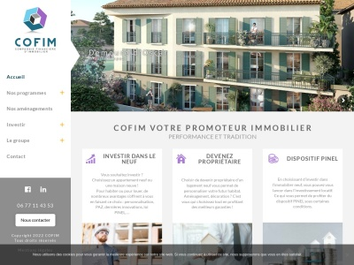 Cofim - Agence immobilière à Sainte Maxime