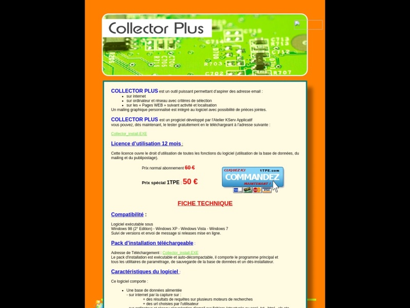 collector plus