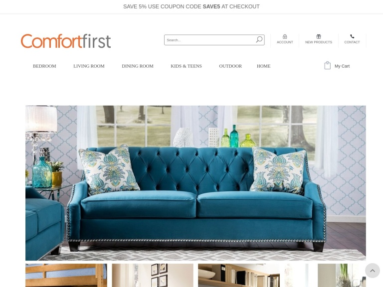Comfortfirst.com Coupon Codes