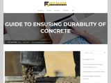 Guide to Ensuring Durability of Concrete
