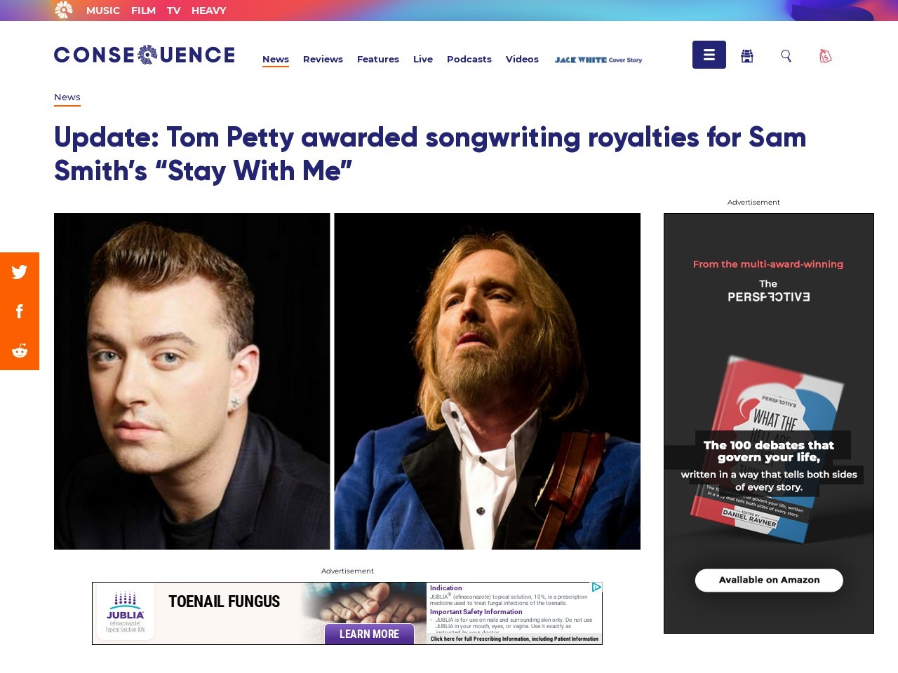 Update: Tom Petty awarded songwriting royalties for Sam …