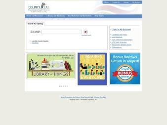 countycat.mcfls.org screenshot