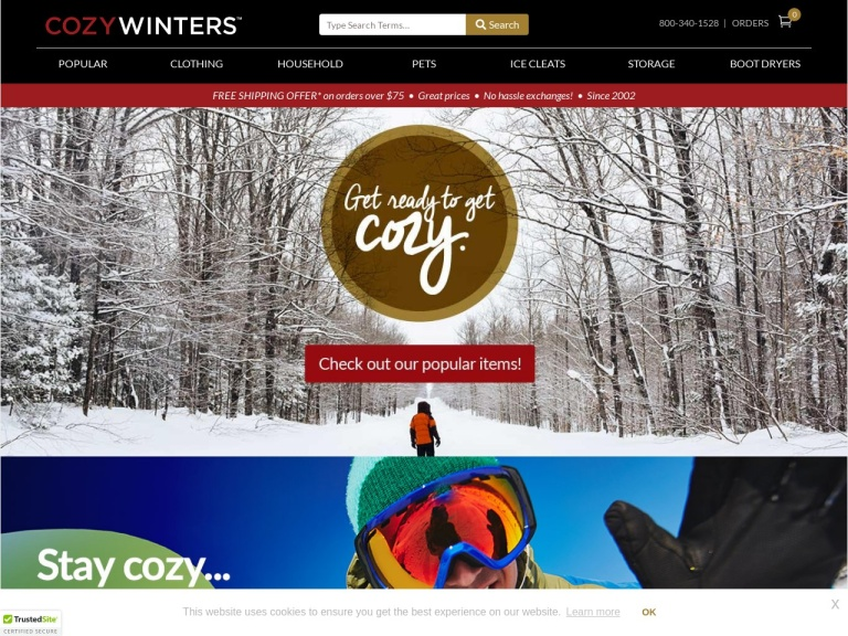 CozyWinters Coupon Codes