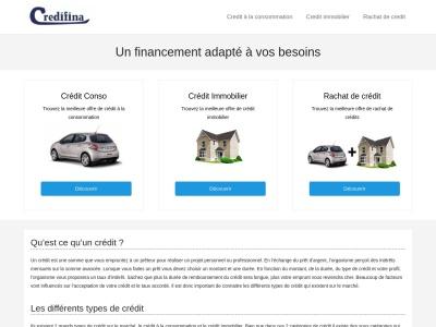 Credifina : trouver un credit pas cher au meilleur taux