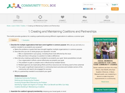http://ctb.ku.edu/en/creating-and-maintaining-partnerships