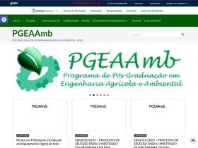 http://cursos.ufrrj.br/posgraduacao/pgeaamb/