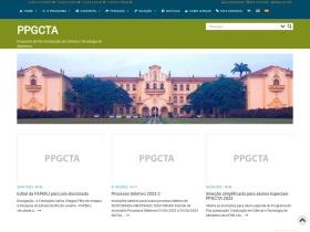 http://cursos.ufrrj.br/posgraduacao/ppgcta/