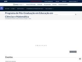 http://cursos.ufrrj.br/posgraduacao/ppgeducimat/